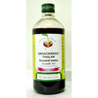 SAHACHARADI THAILAM 450 ML