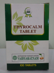 THYROCALM TABLETS 100 NOS